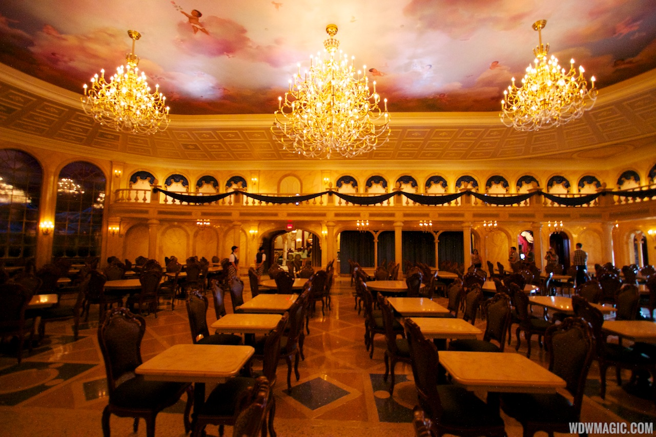 be our guest dining rooms | Inside Be Our Guest Restaurant dining rooms - Photo 19 of 19