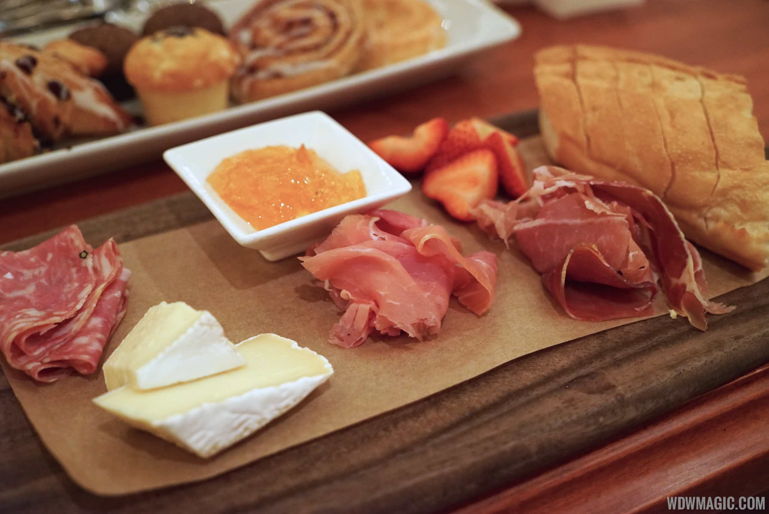 Be Our Guest Restaurant Breakfast - Assorted Meats and Cheese