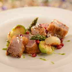 Be Our Guest prix fixe dinner menu