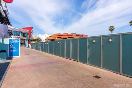 All Beatrix 'coming-soon' signs removed from the planned construction site at Disney Springs