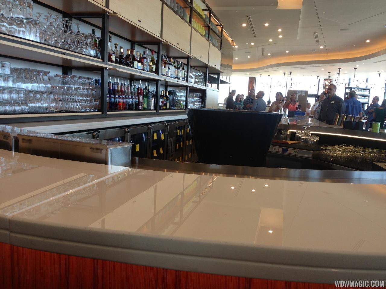 Inside the newly refurbished California Grill bar
