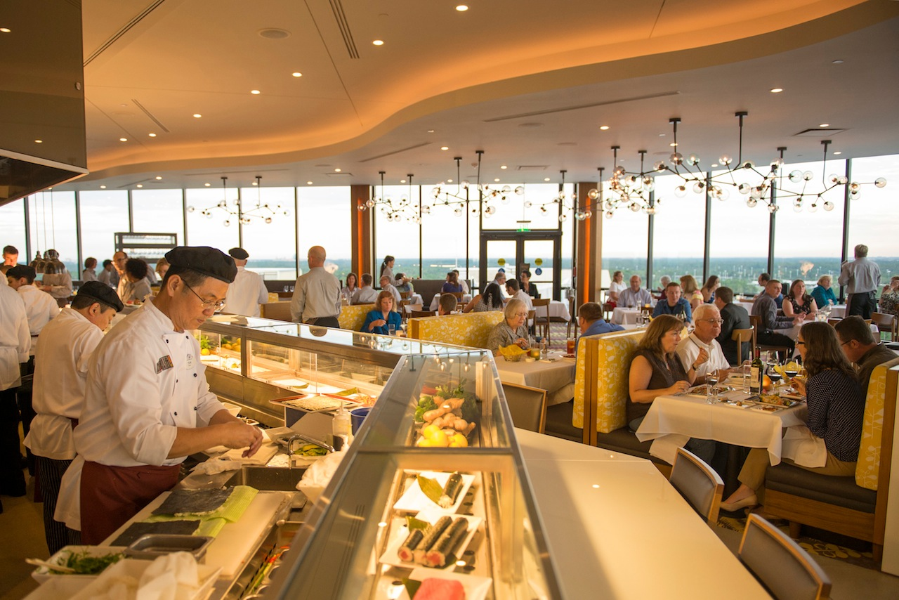 New California Grill dining room