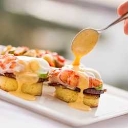 Brunch at the Top menu items