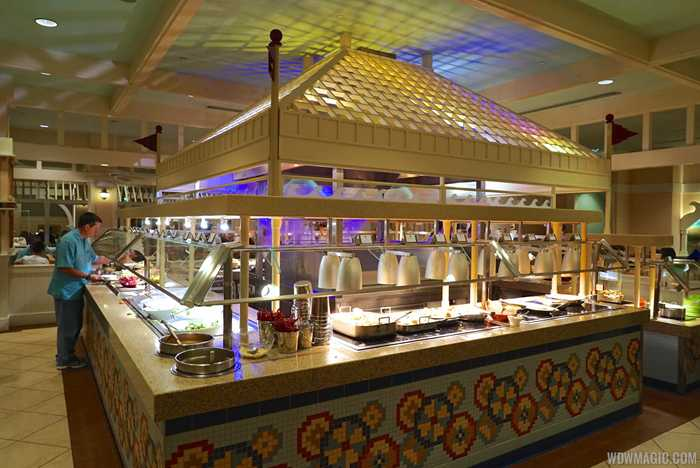 Cape May Cafe dinner buffet
