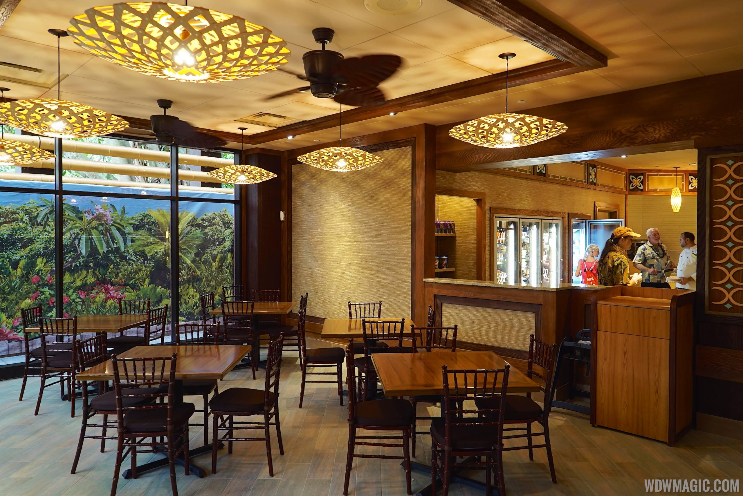 New Captain Cook's at Disney's Polynesian Village Resort