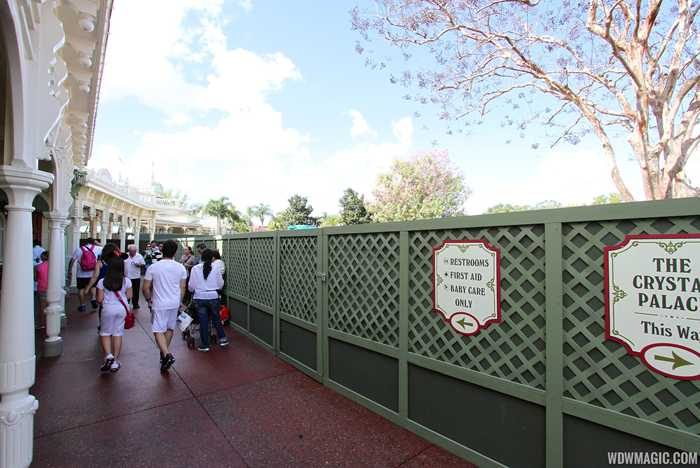 Casey's Corner seating area refurbishment
