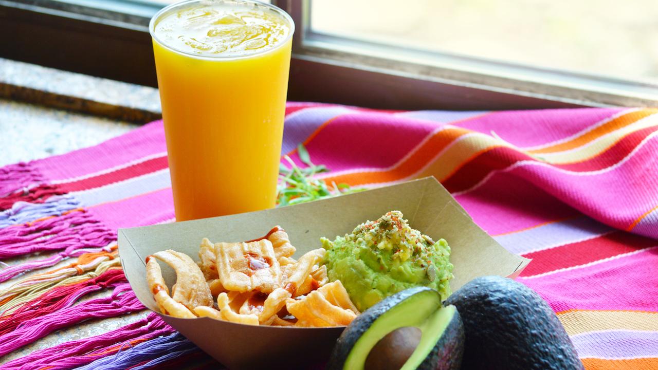 Choza de Margarita food and drink