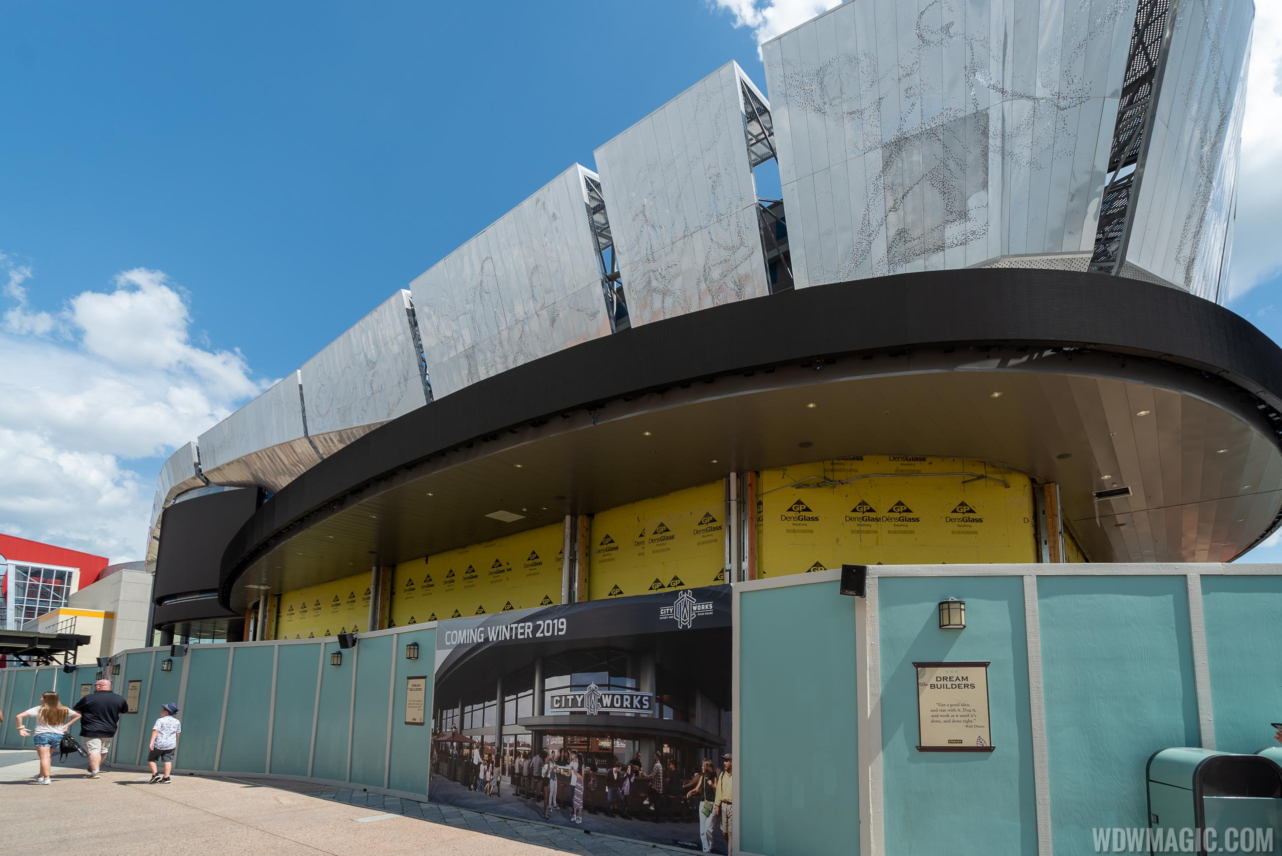 City Works Eatery and Pour House construction - June 2019