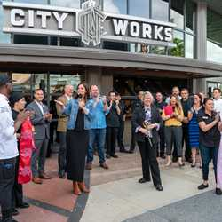 City Works Eatery and Pour House ribbon cutting and tour