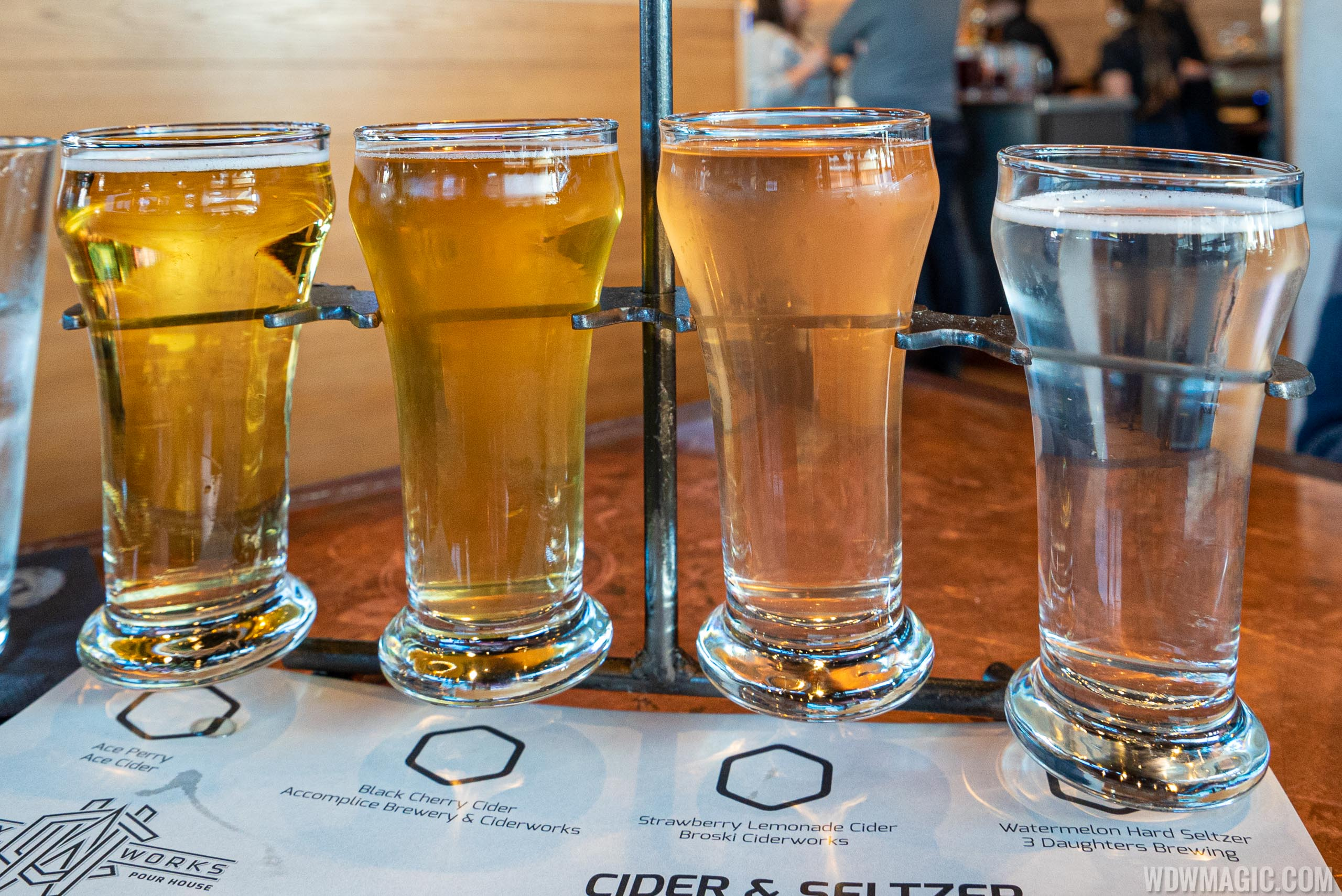 City Works Eatery and Pour House Disney Springs - Flight
