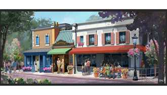 PHOTO - New Crêperie restaurant coming to Epcot's France Pavilion as part of Ratatouille expansion