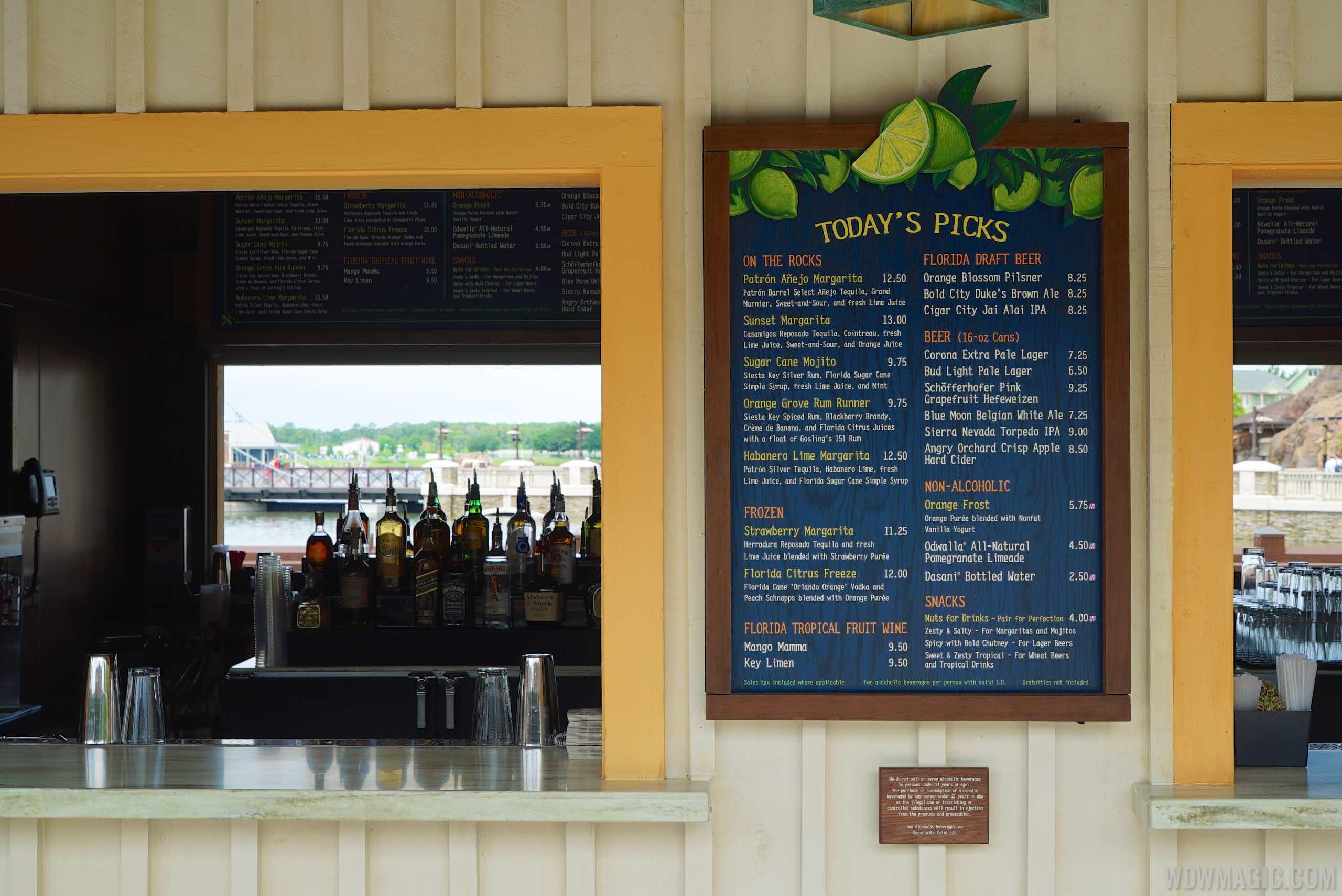 Dockside Margaritas overview