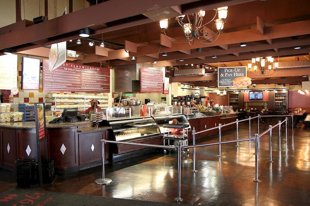 Inside the Earl of Sandwich
