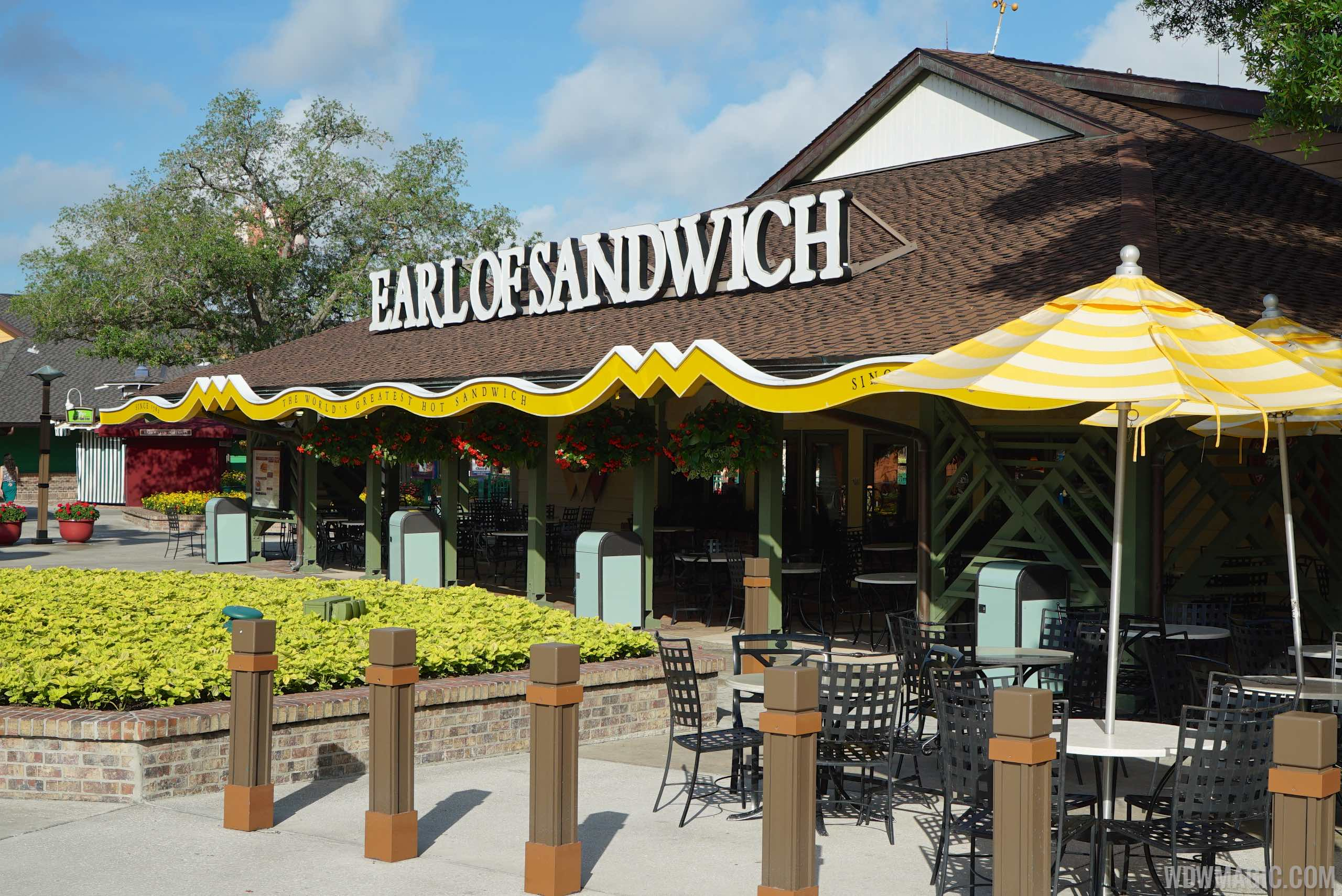 Earl of Sandwich limited time holiday offerings 2018