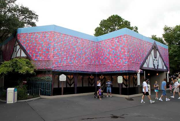 Enchanted Grove exterior refurbishment