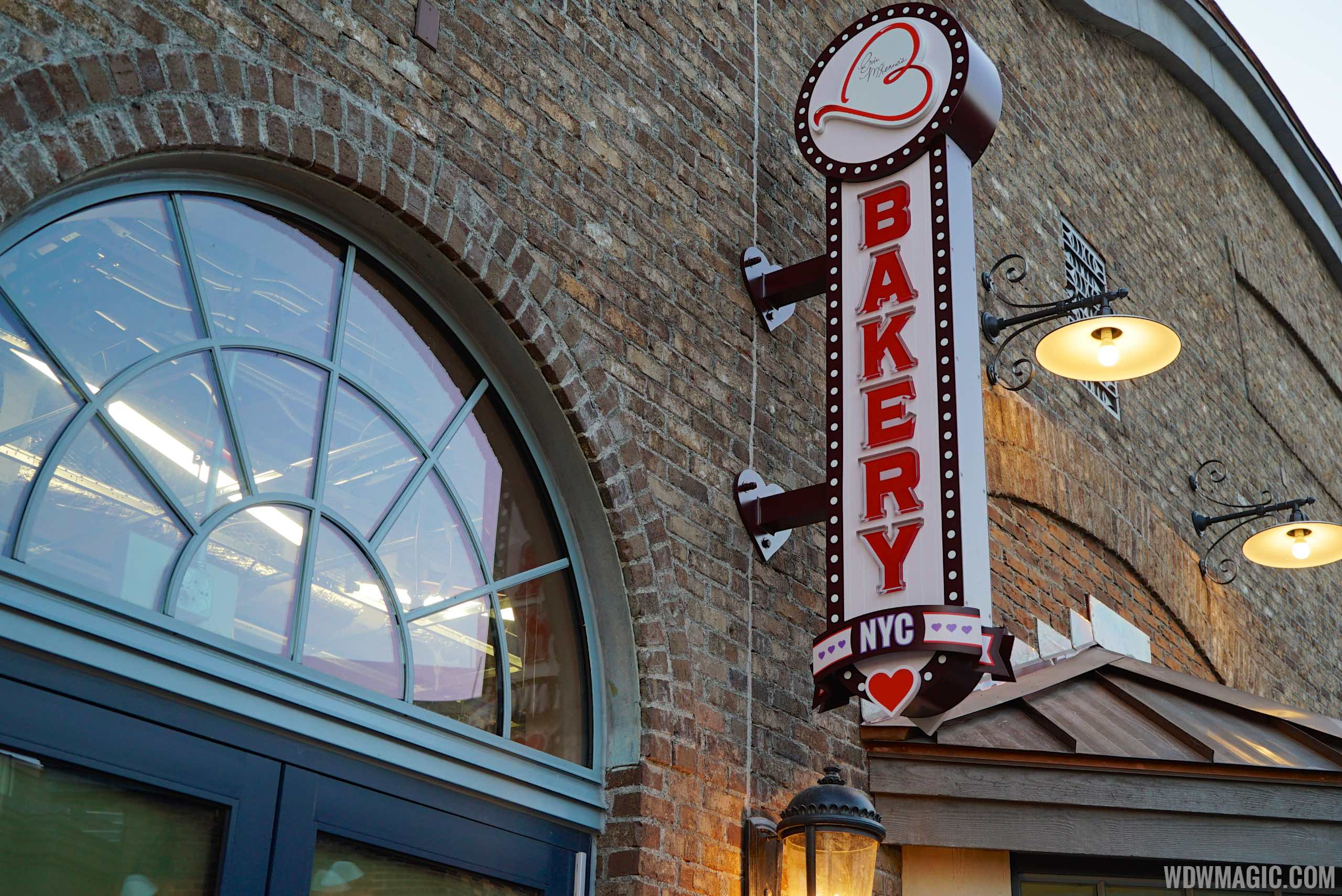 Erin McKenna's NYC Bakery storefront