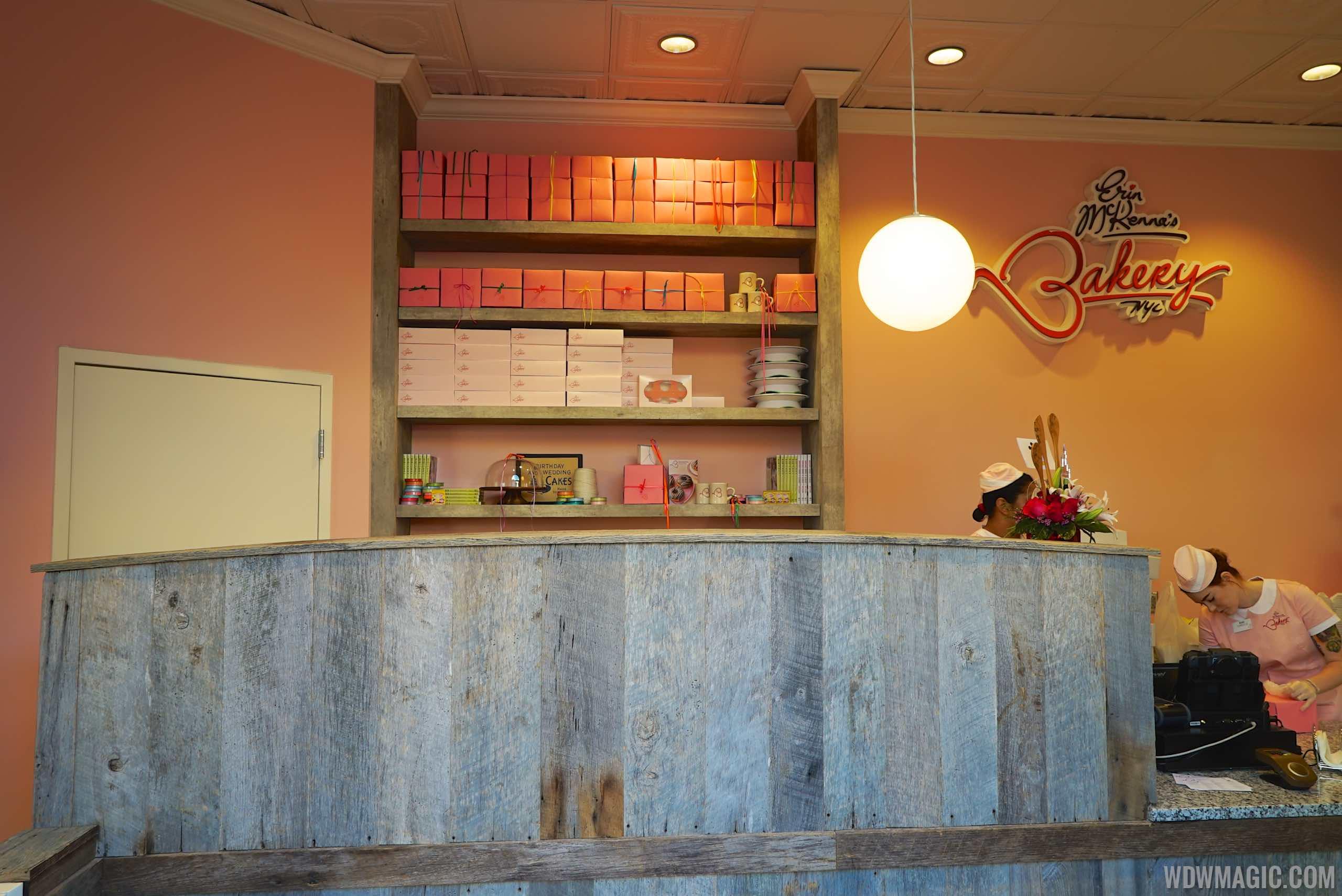 InsideErin McKenna's Bakery NYC