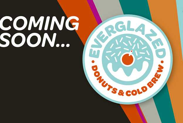 Everglazed Donuts and Cold Brew logo