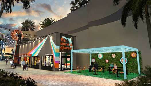 PHOTOS - Concept art of the new 'Everglazed Donuts and Cold Brew' coming soon to Disney Springs
