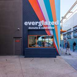 Everglazed Donuts and Cold Brew opening day