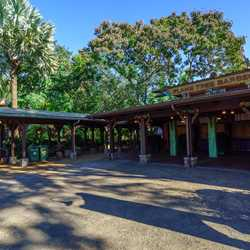 New seating at Flame Tree Barbecue