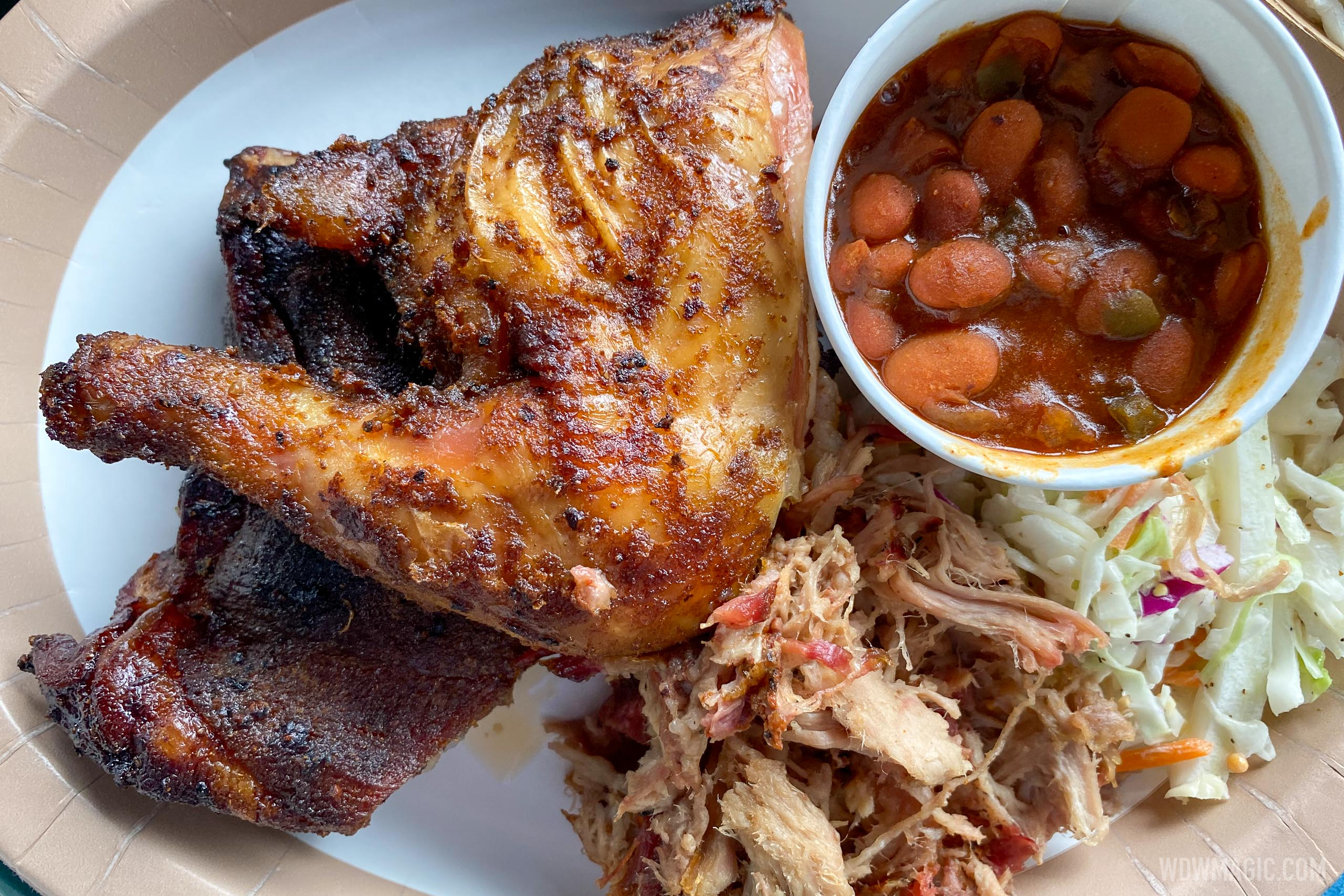 Flame Tree Barbecue food