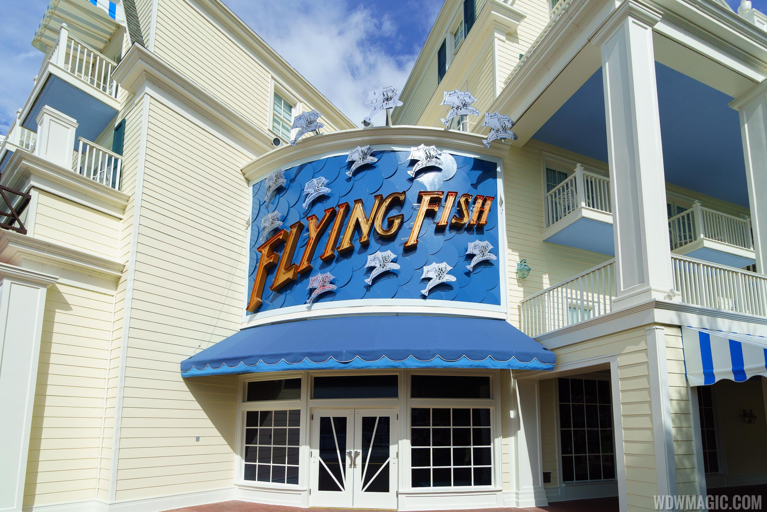 Flying Fish on Disney's BoardWalk