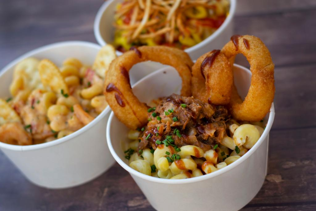 Mac and Cheese Food Truck food