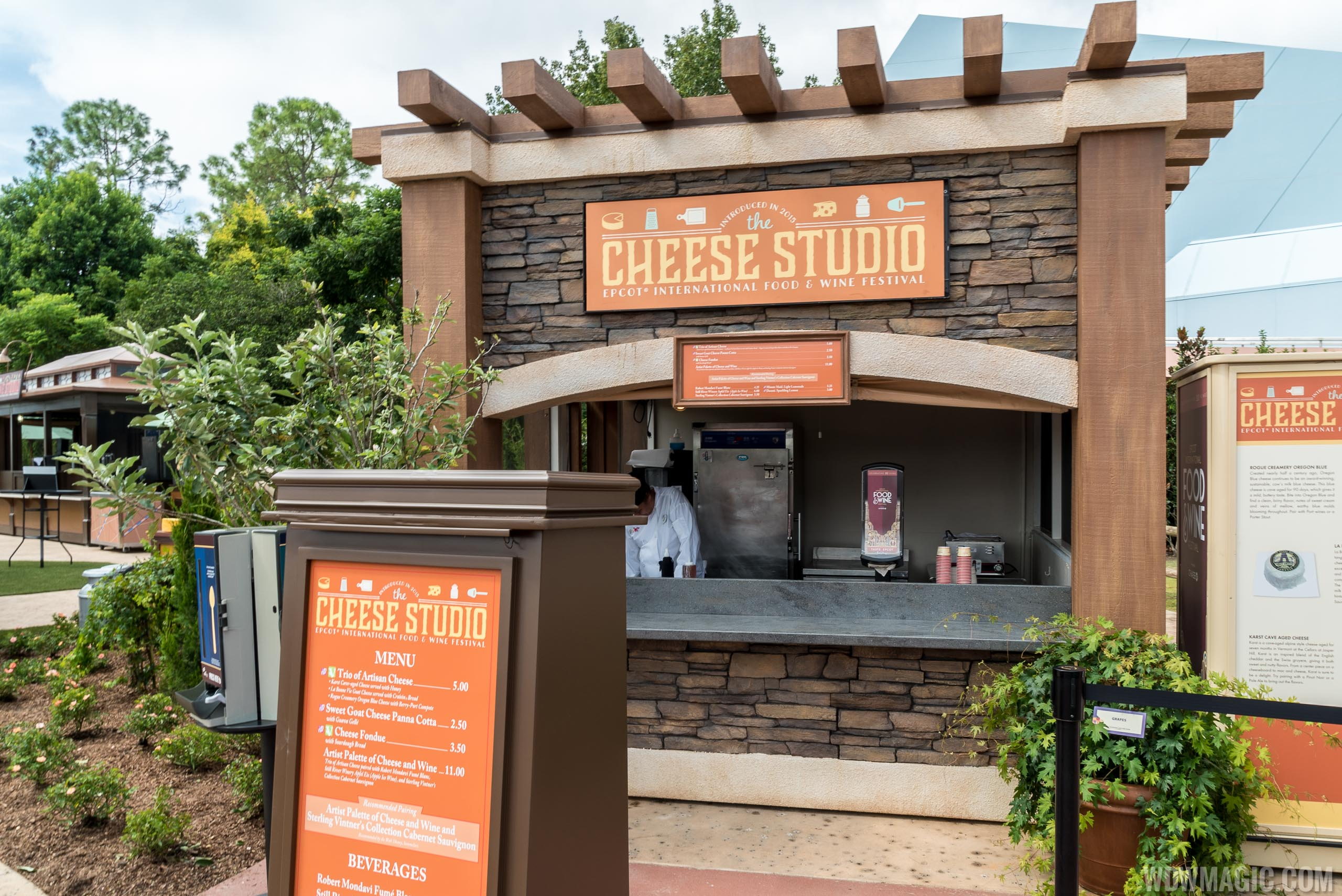 Cheese Studio kiosk