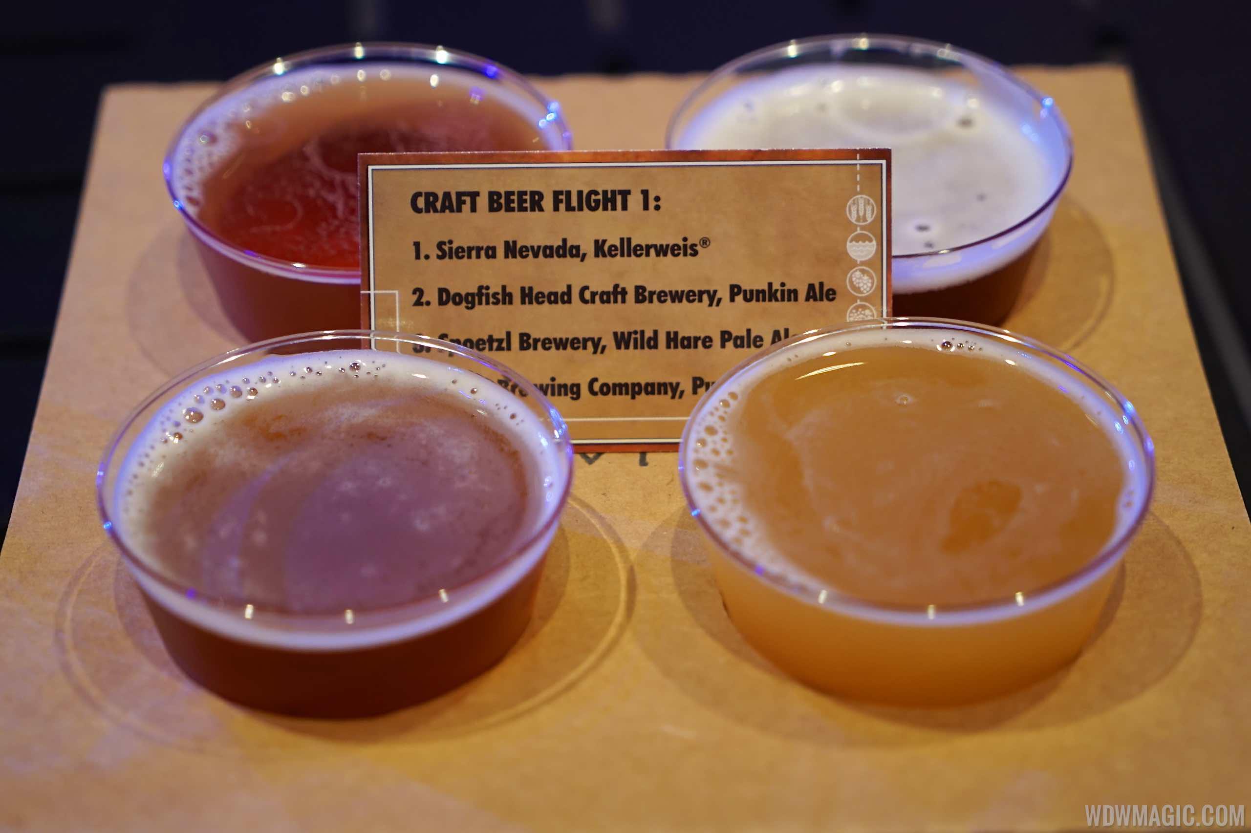 Craft Beers - Beer Flight