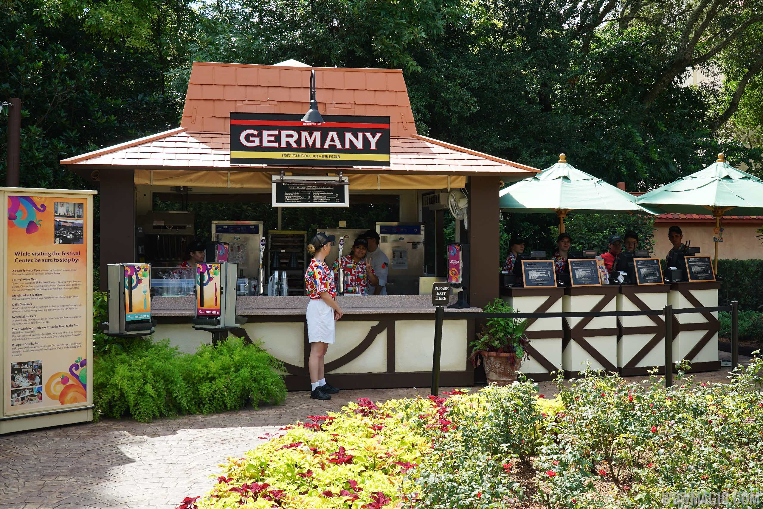 Germany Food and Wine kiosk