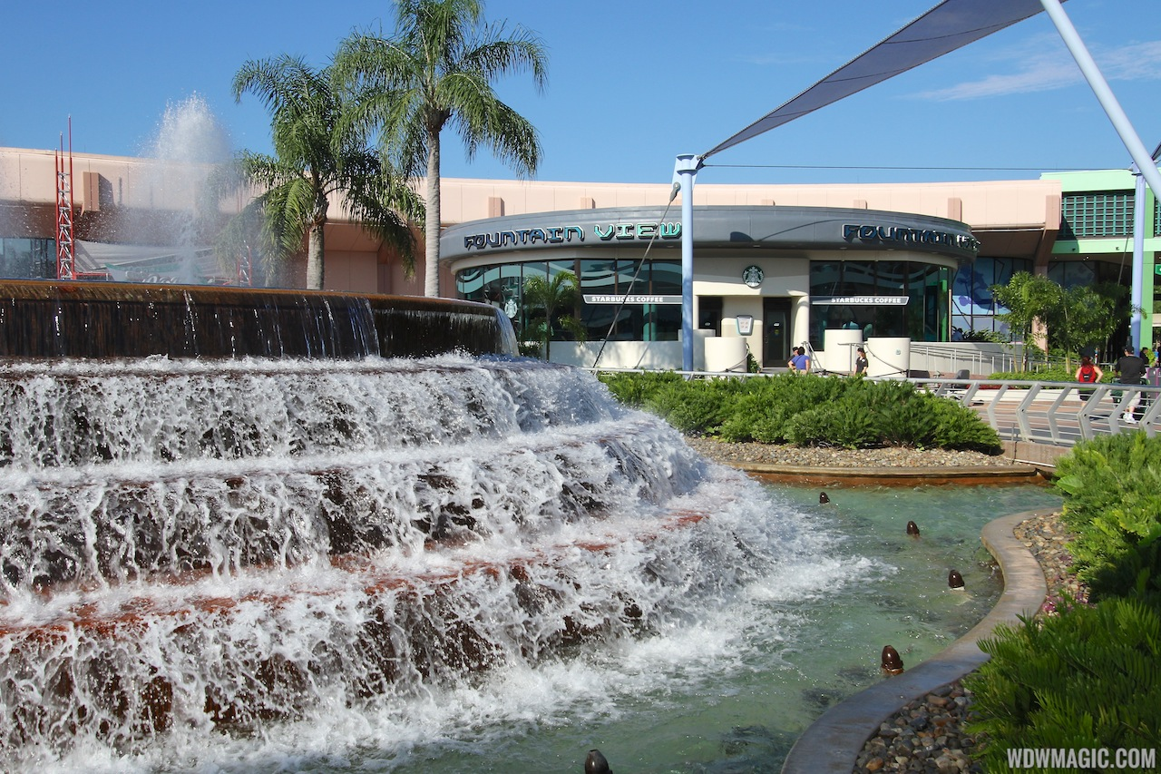 Fountain View Starbucks at Epcot