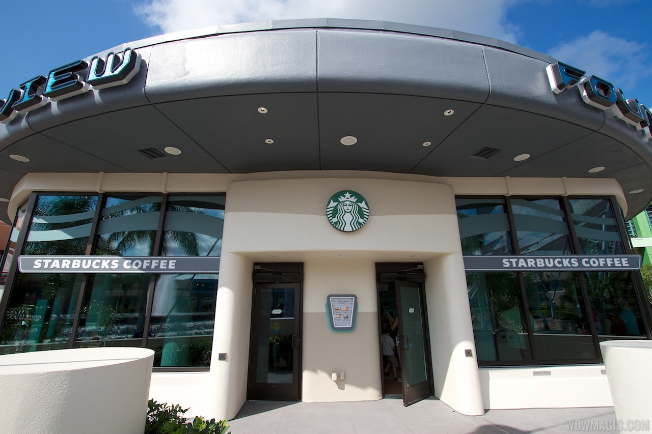 Fountain View Starbucks - The main entrance