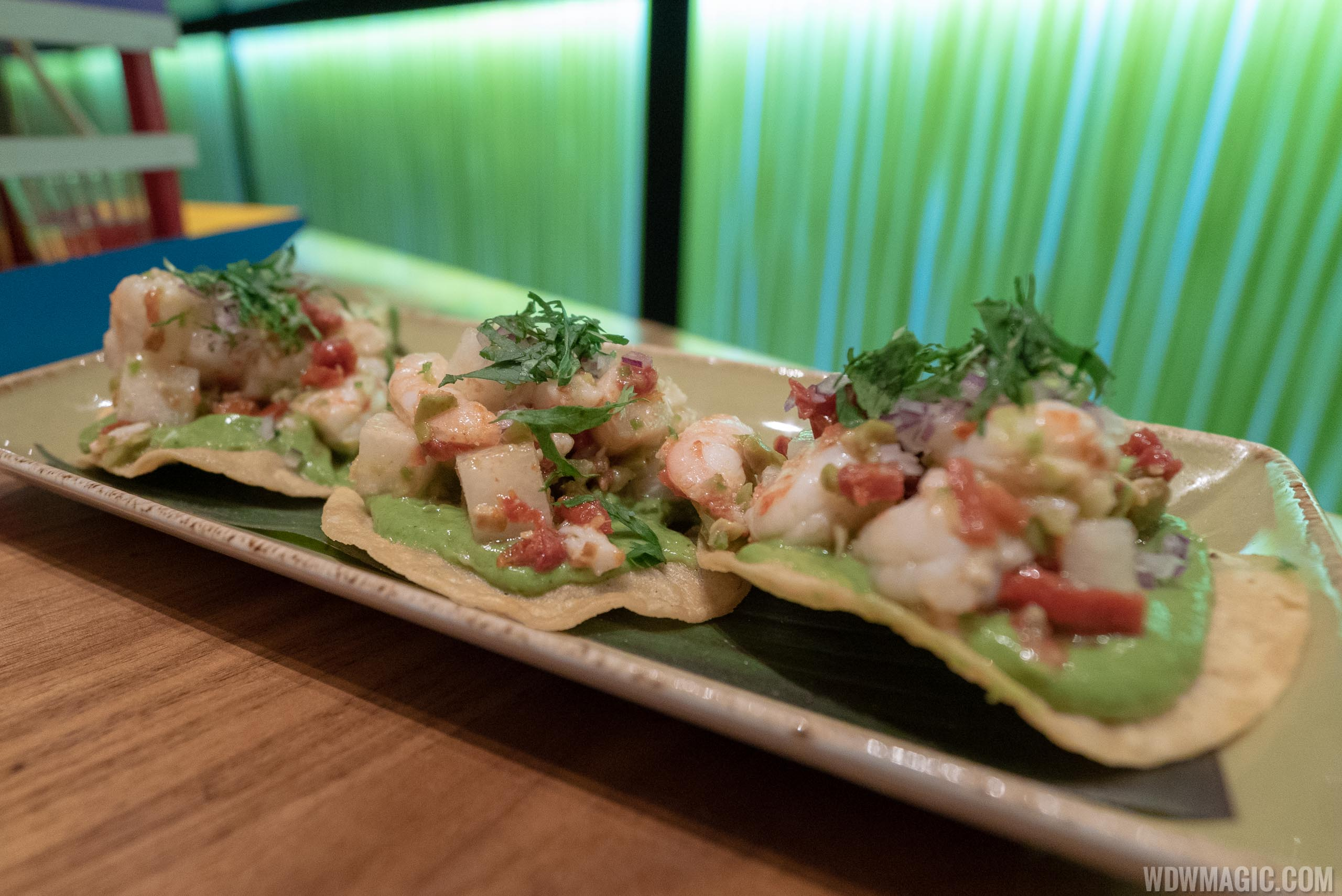 Frontera Cocina - Taste of Mexico City - Shrimp Ceviche Tostadas