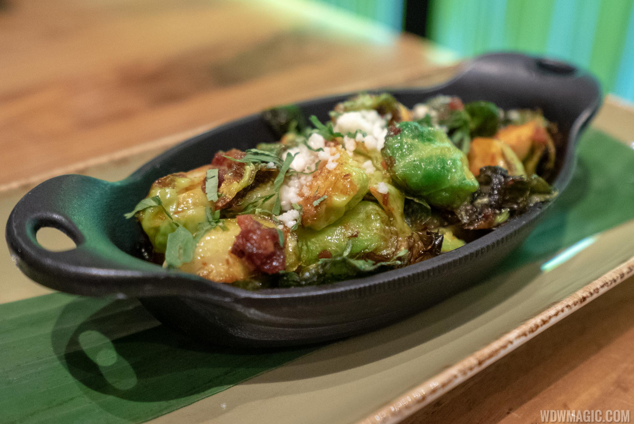 Frontera Cocina - Taste of Mexico City - Three Chile Roasted Brussels Sprouts