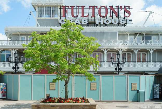 Fulton's Crab House refurbishment