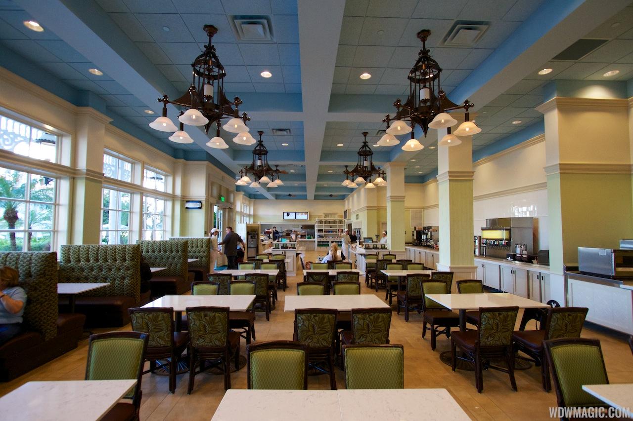 Gasparilla Island Grill dining room