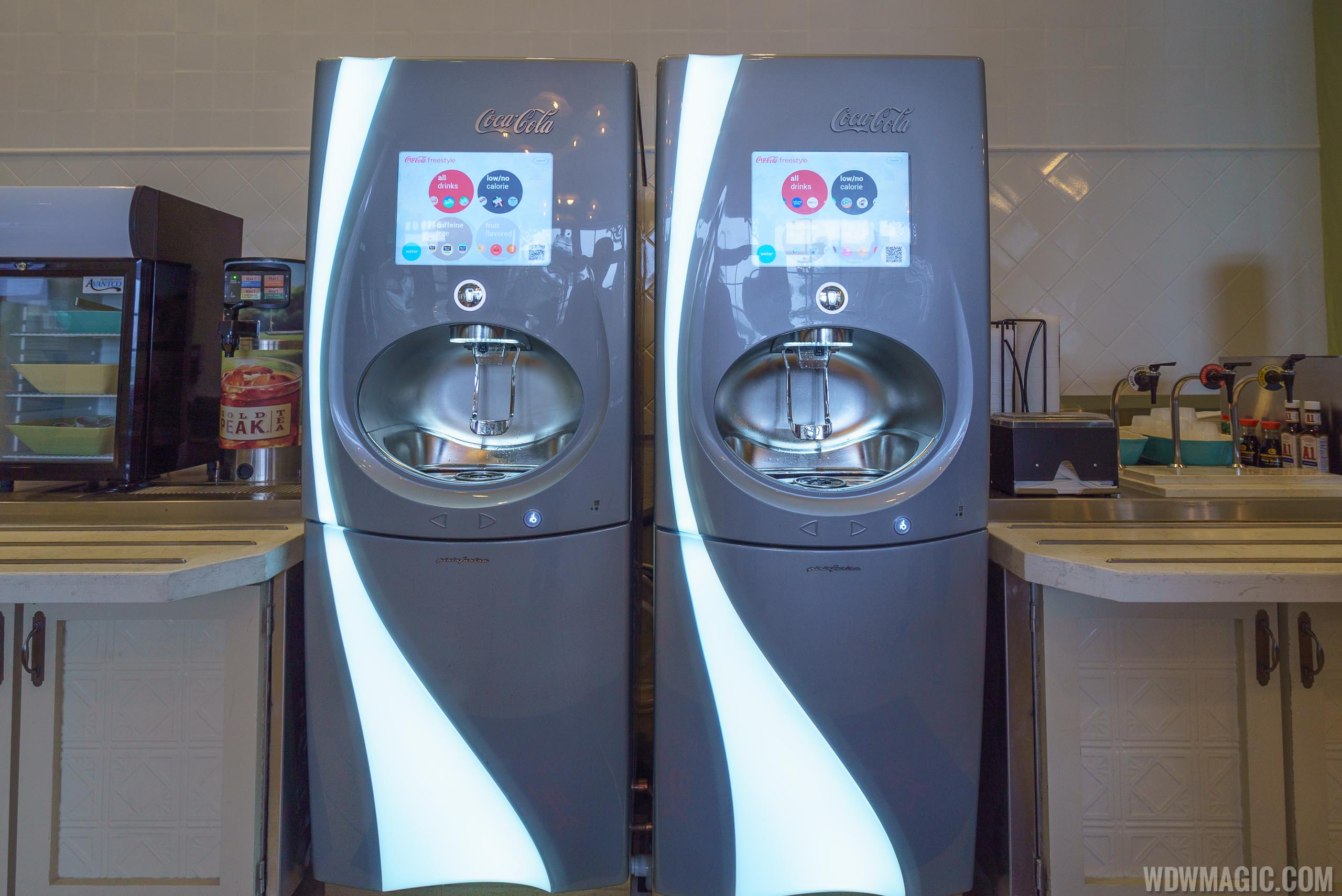 Gasparilla Island Grill Coke Freestyle machines