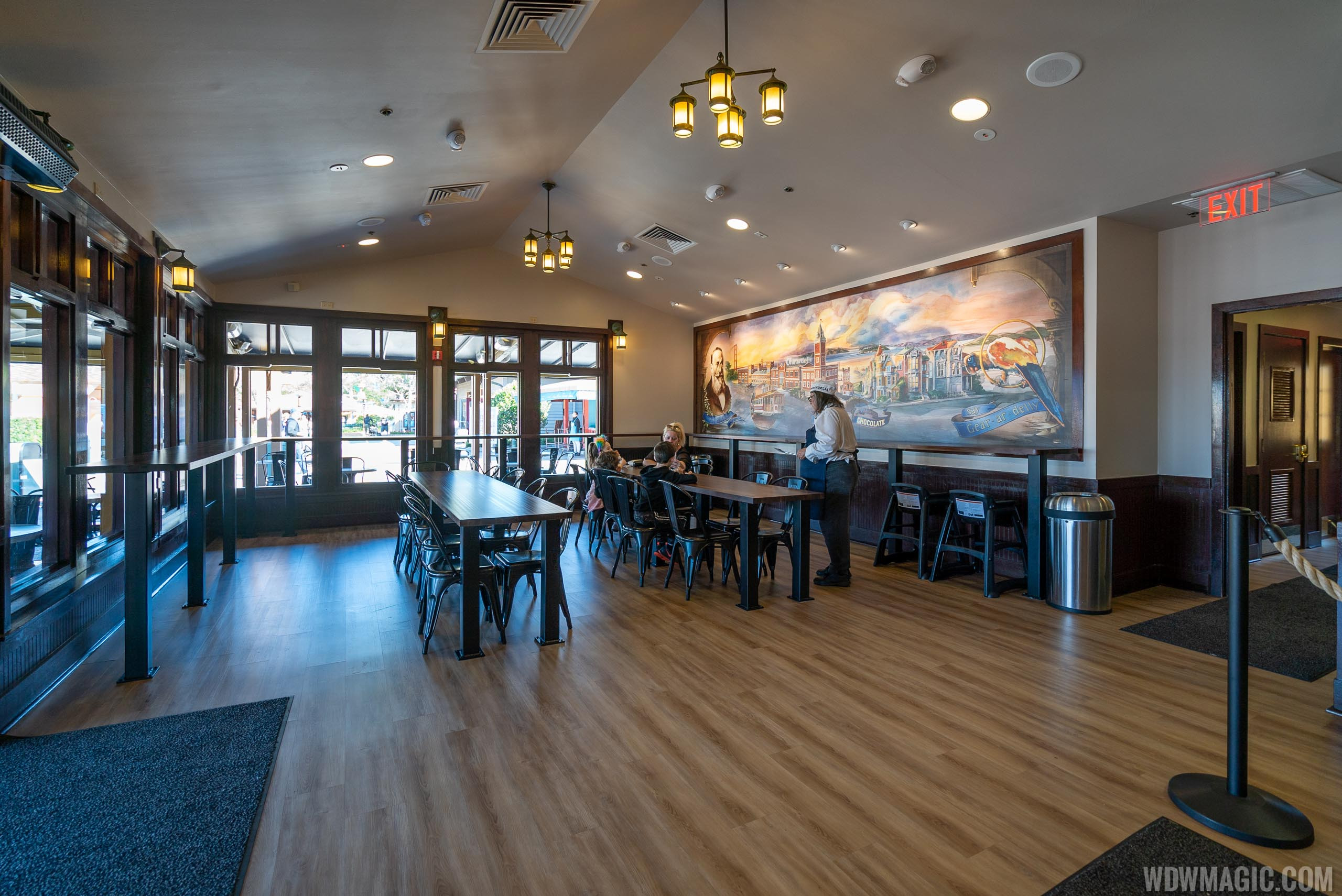 Refurbished Ghirardelli Soda Fountain February 2020
