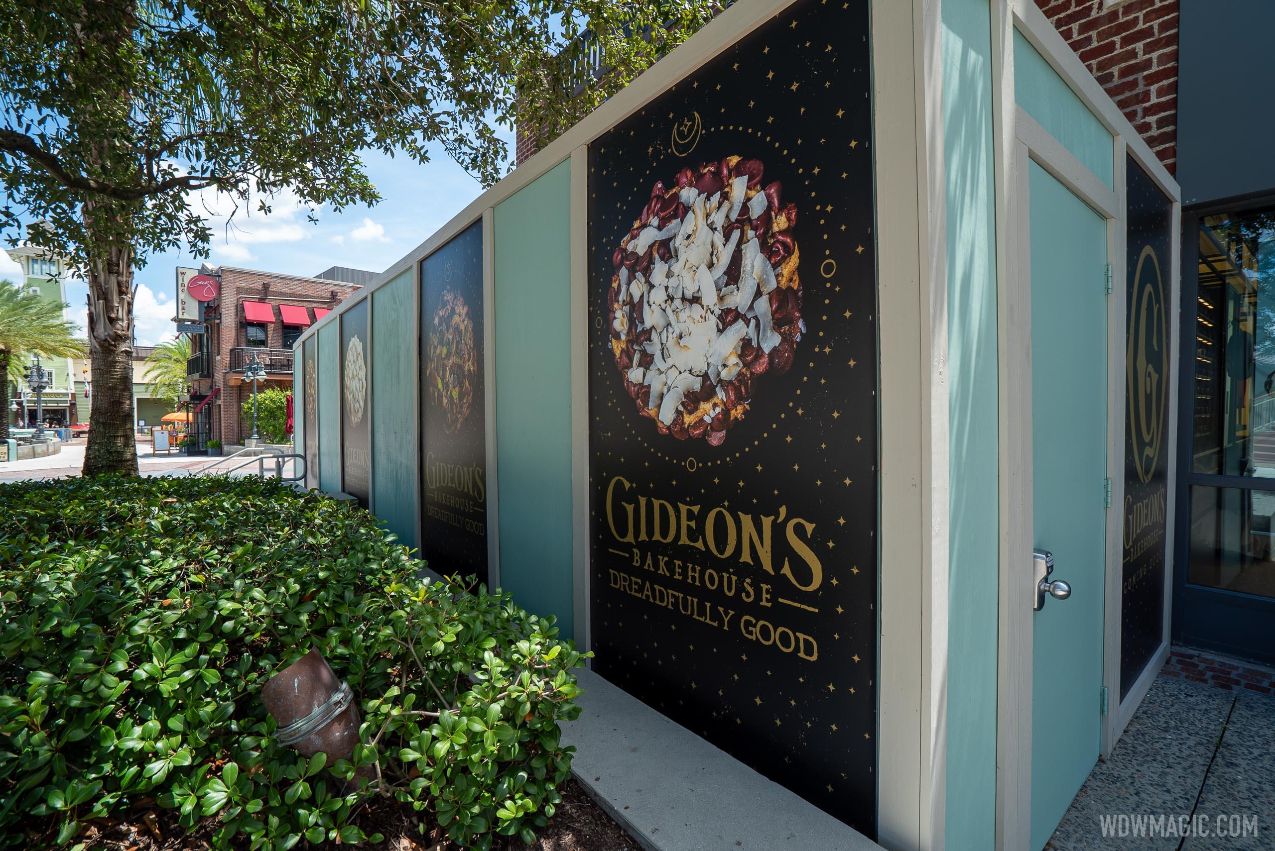 Gideon's Bakehouse construction - August 11 2020