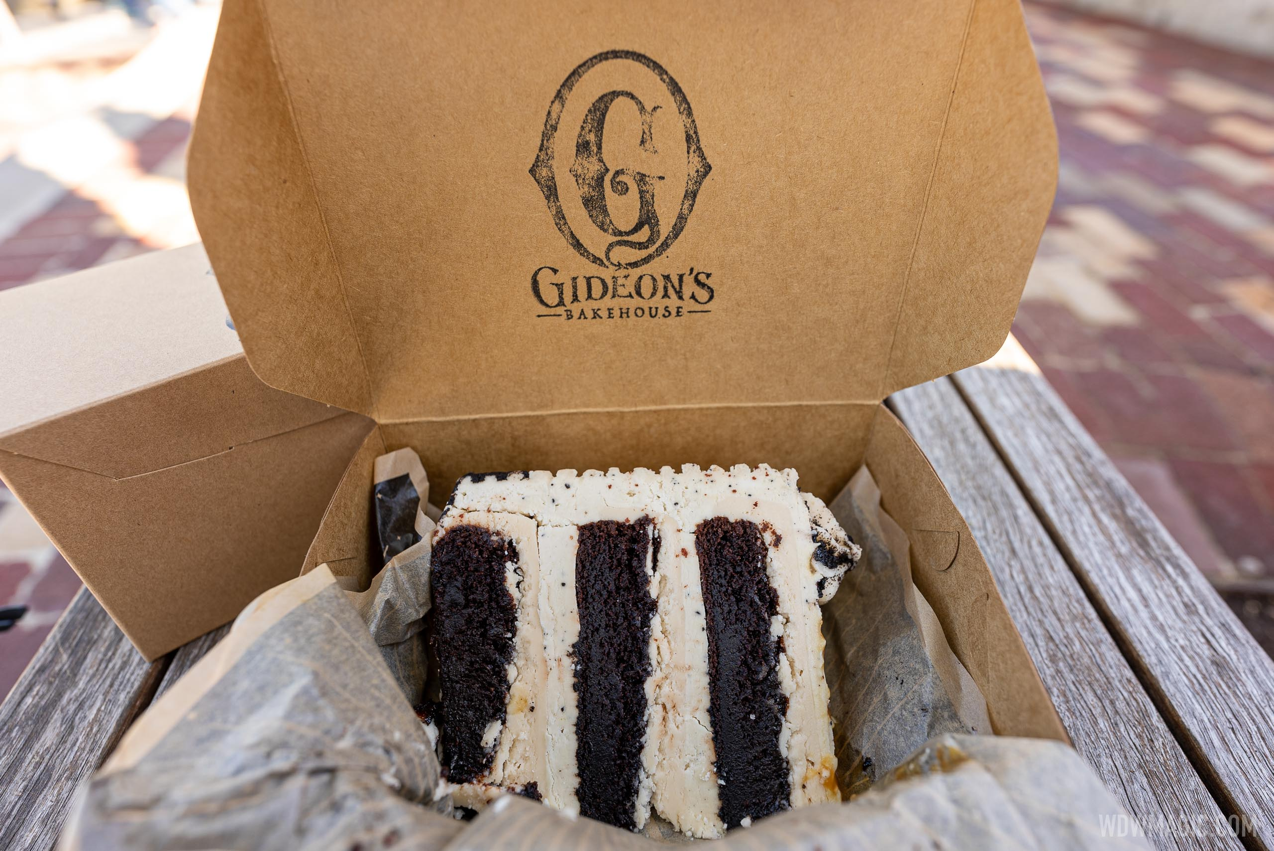 Gideon's Double Frosted cake slice