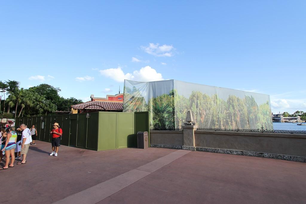 Construction walls down