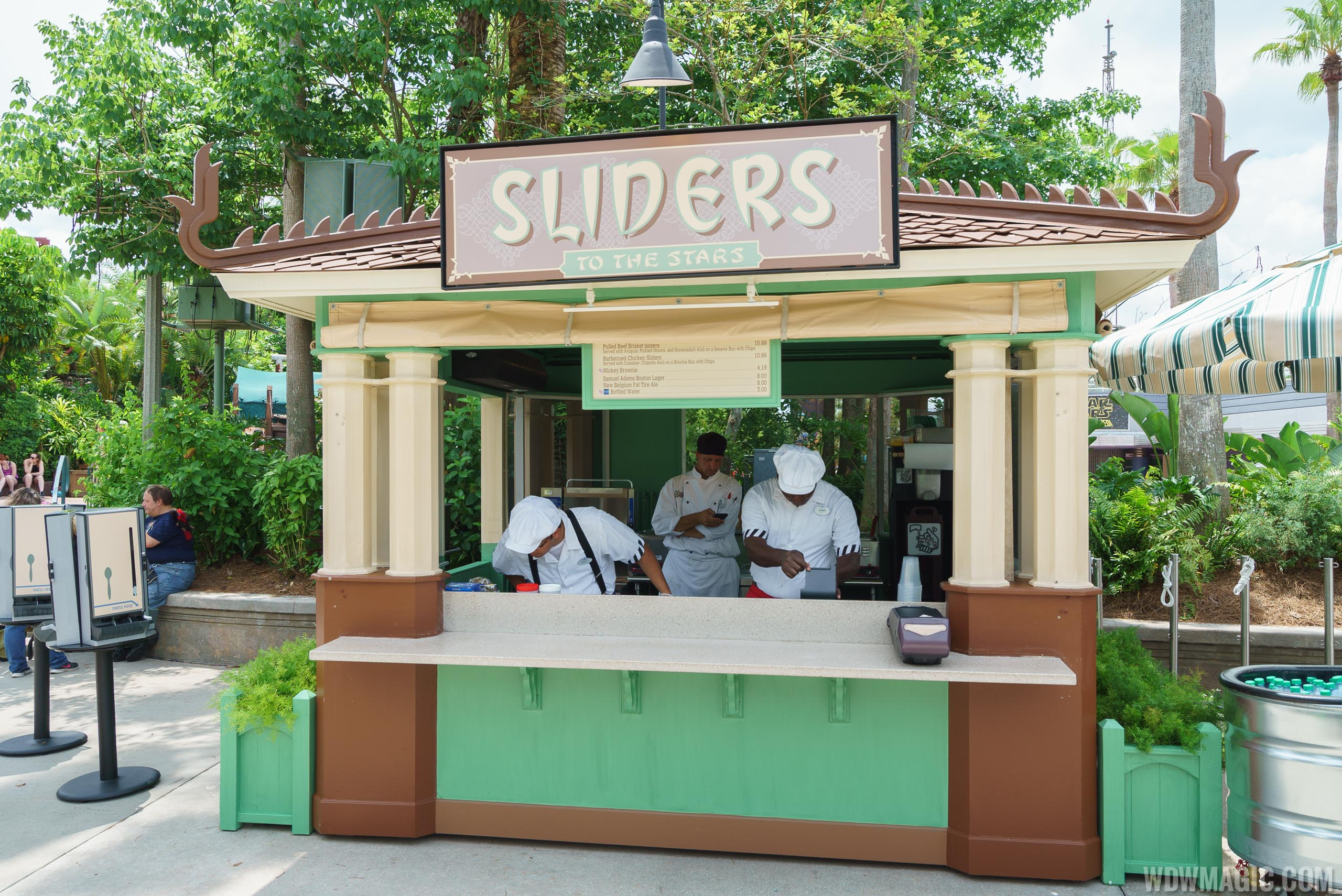Sliders to the Stars kiosk