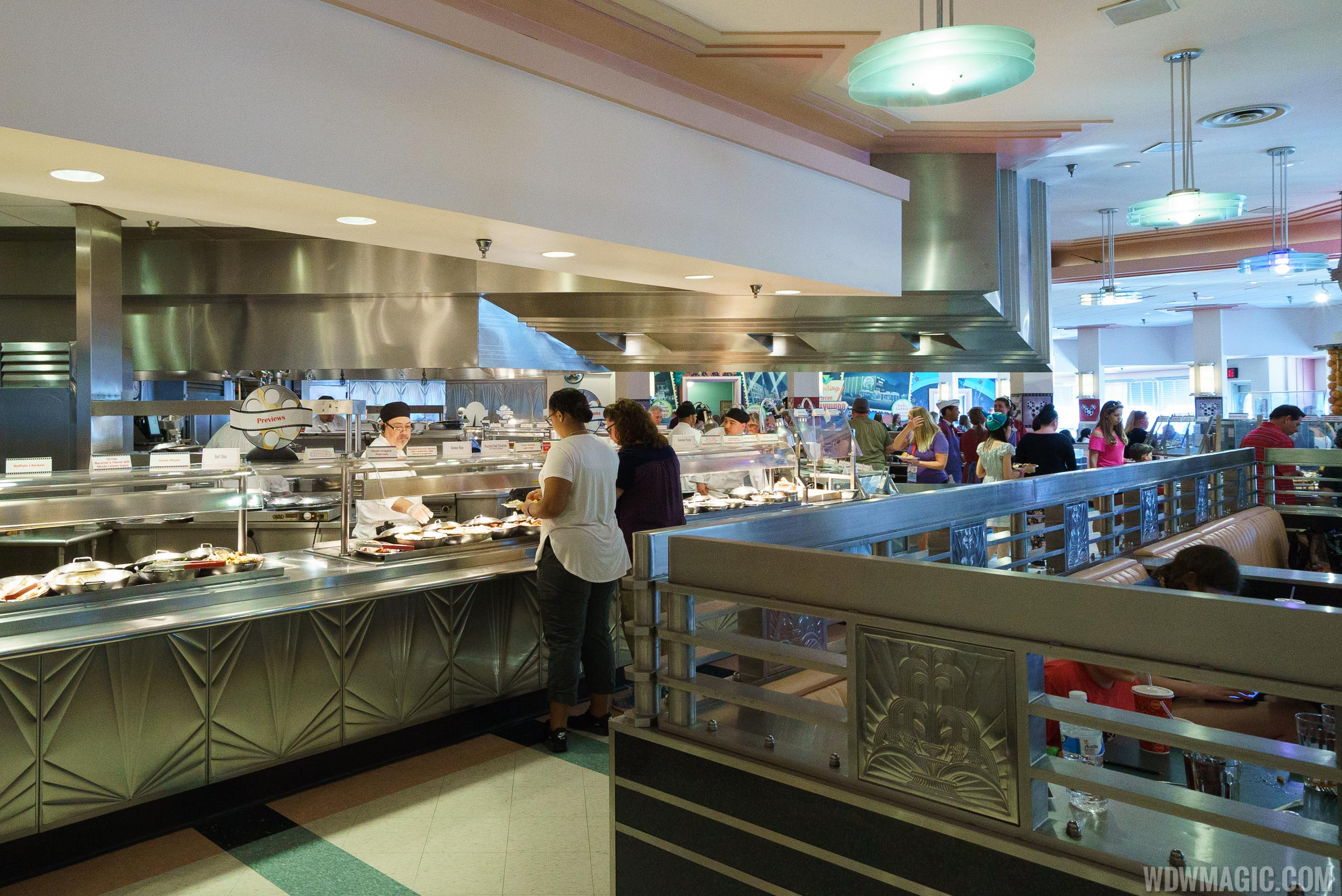 Hollywood and Vine lunch and dinner buffet