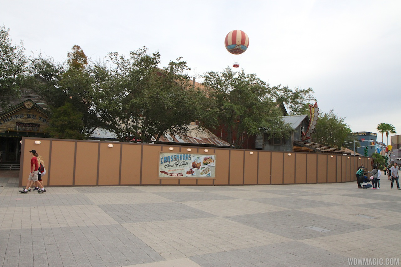 House of Blues quick service barbecue location under construction