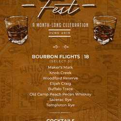 House of Blues Bourbon Fest June 2019