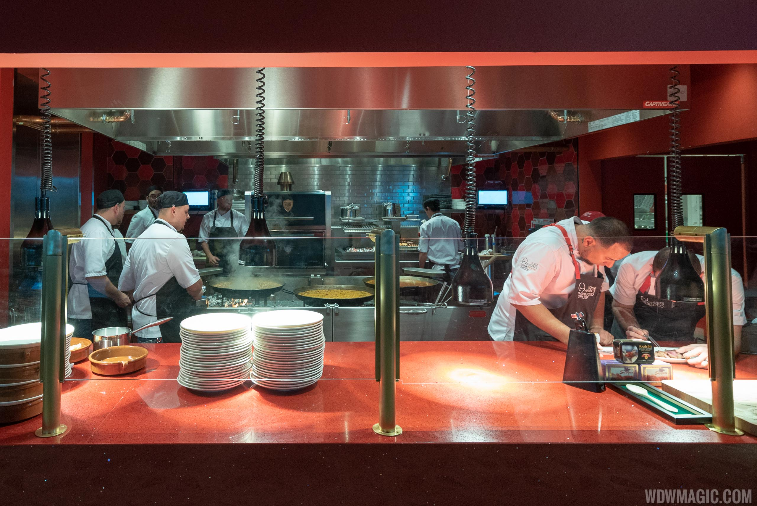 Jaleo restaurant tour and food