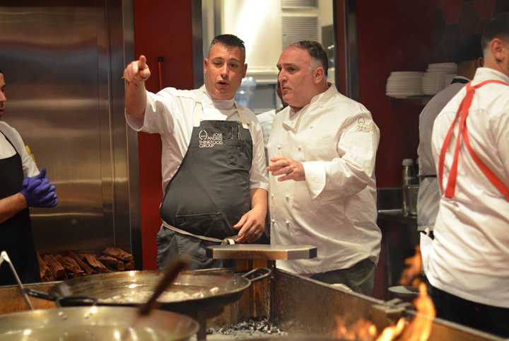 VIDEO - World Renowned Chef José Andrés officially opens Jaleo at Disney Springs