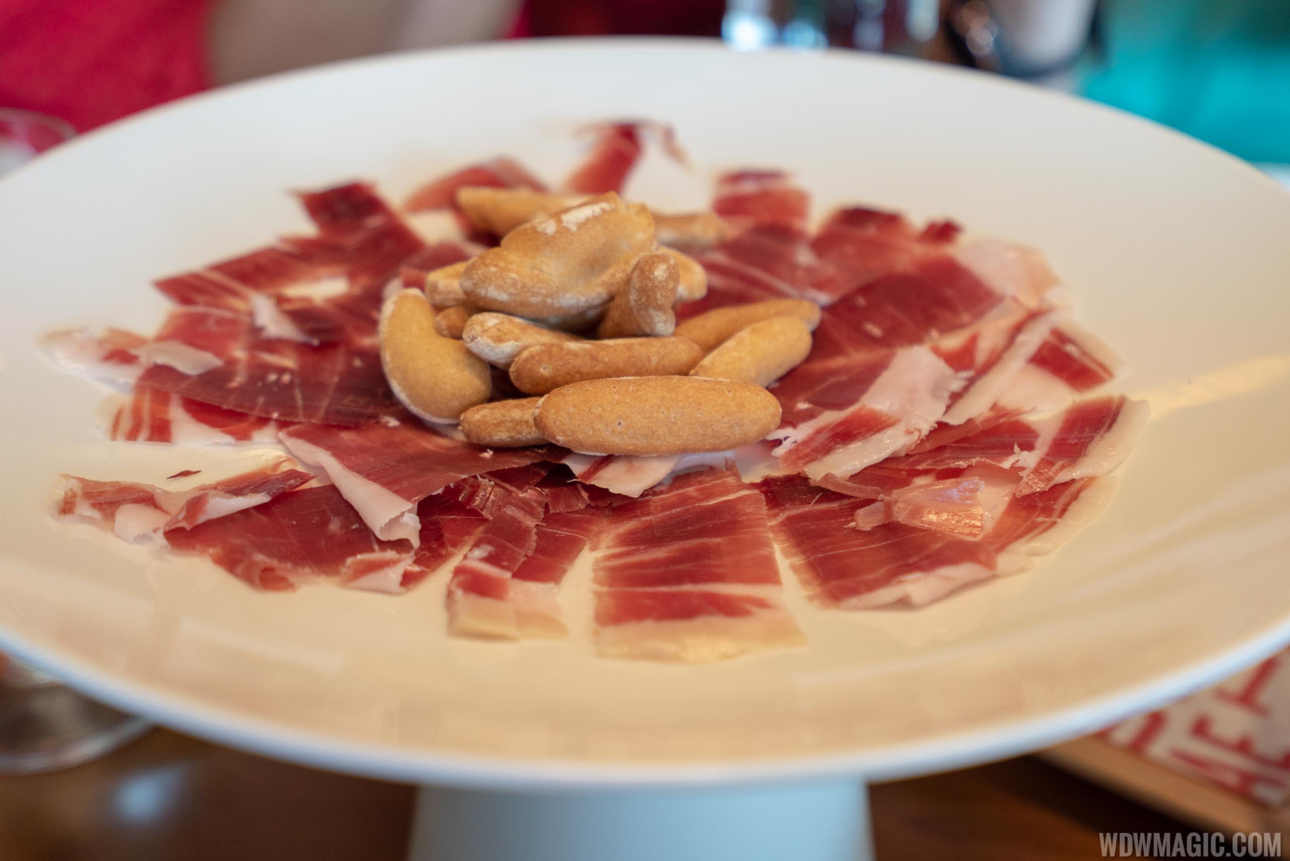 Chef's tasting menu: José's Way - 24-month cured serrano ham