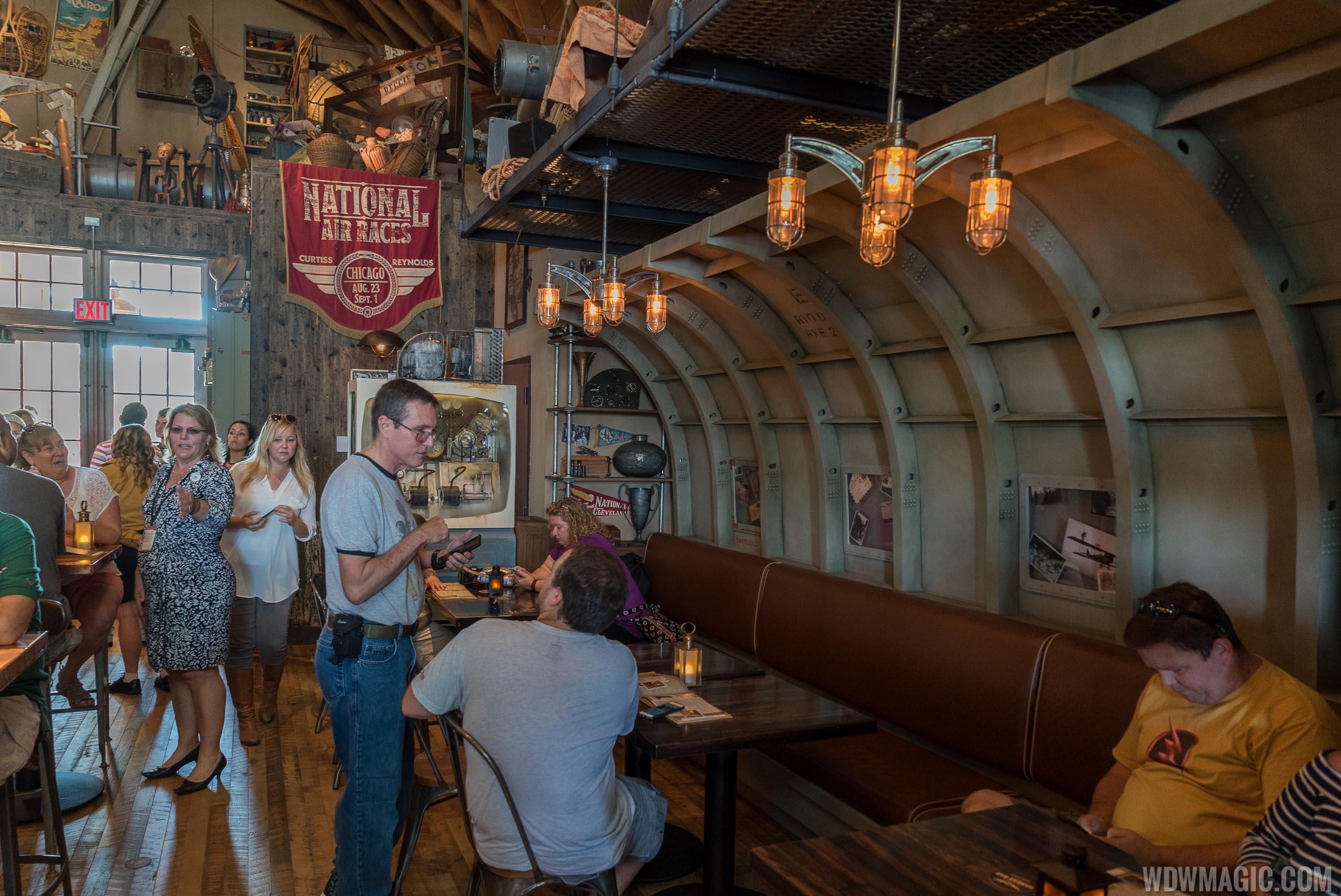 Jock Lindsey's Hangar Bar - Seating